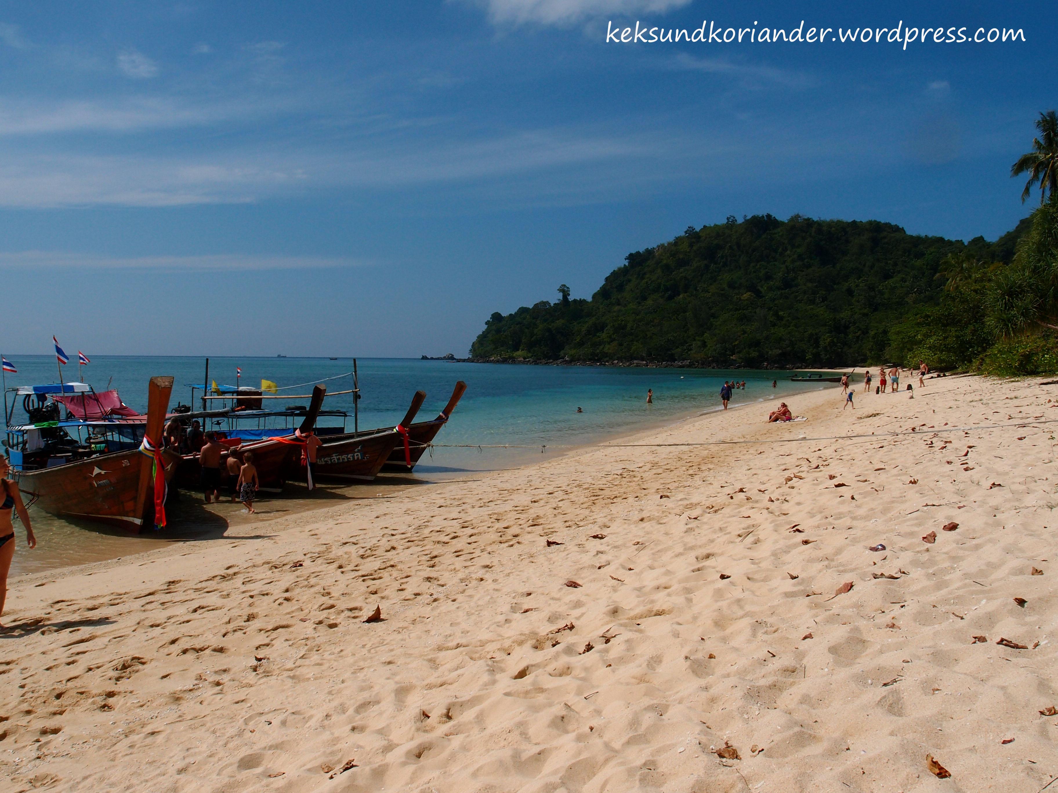 Koh Lanta 4-Island-Tour Strand Thailand