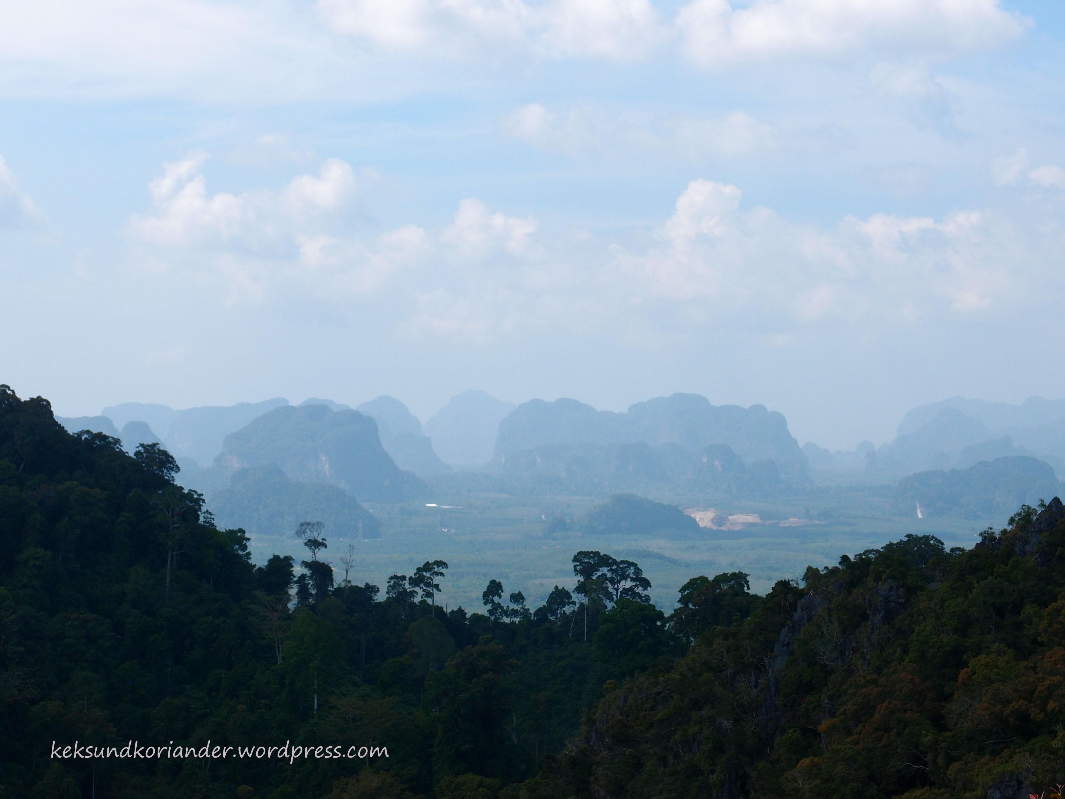 Krabi Aussichtsfels Thailand