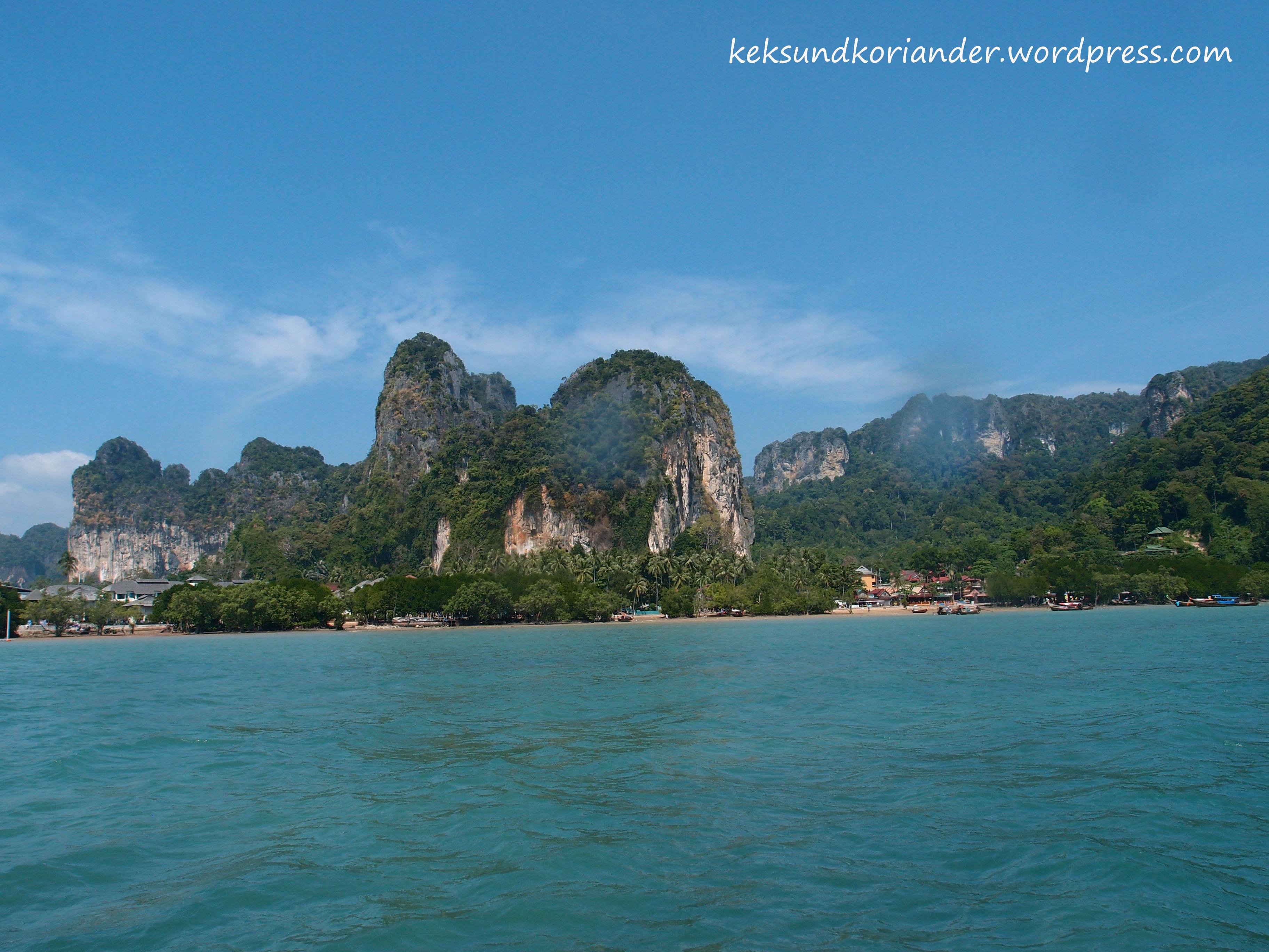 Karstfelsen Krabi Thailand