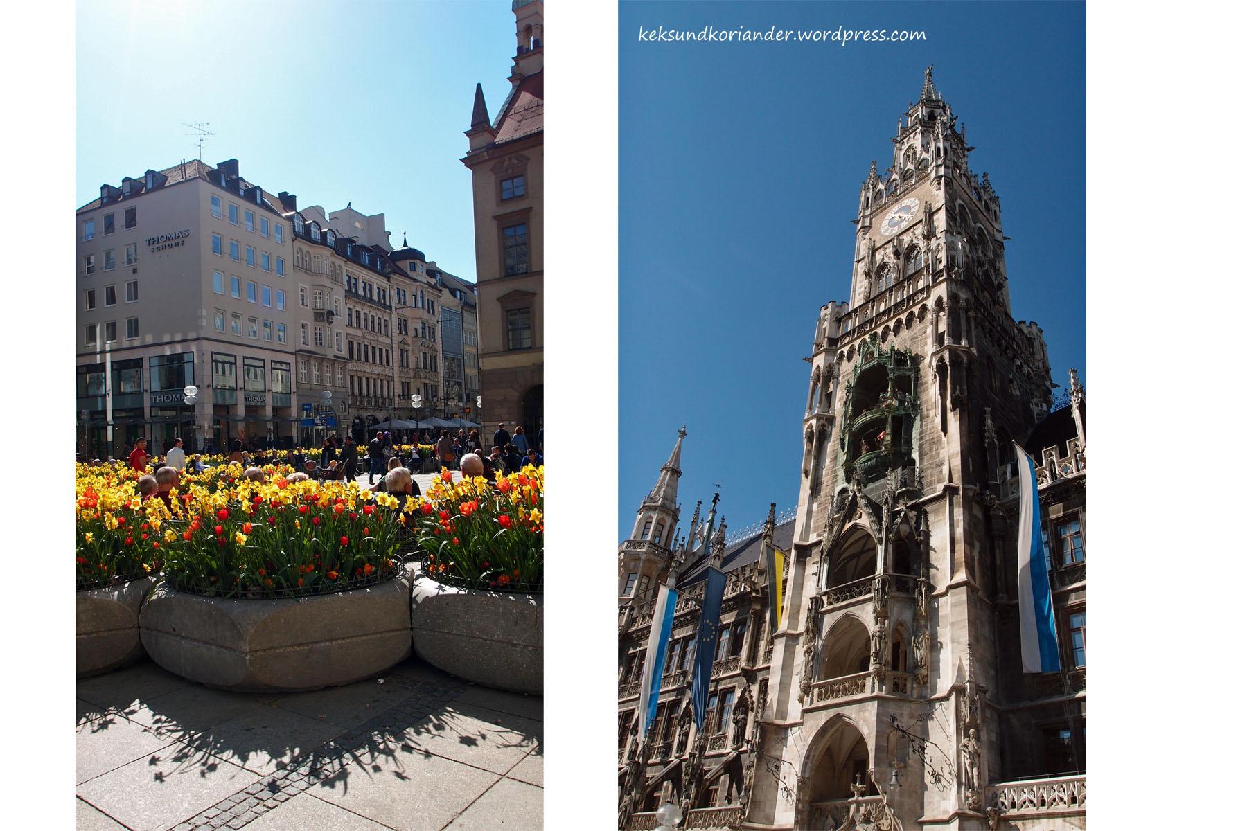 München Rathaus glockenspiel