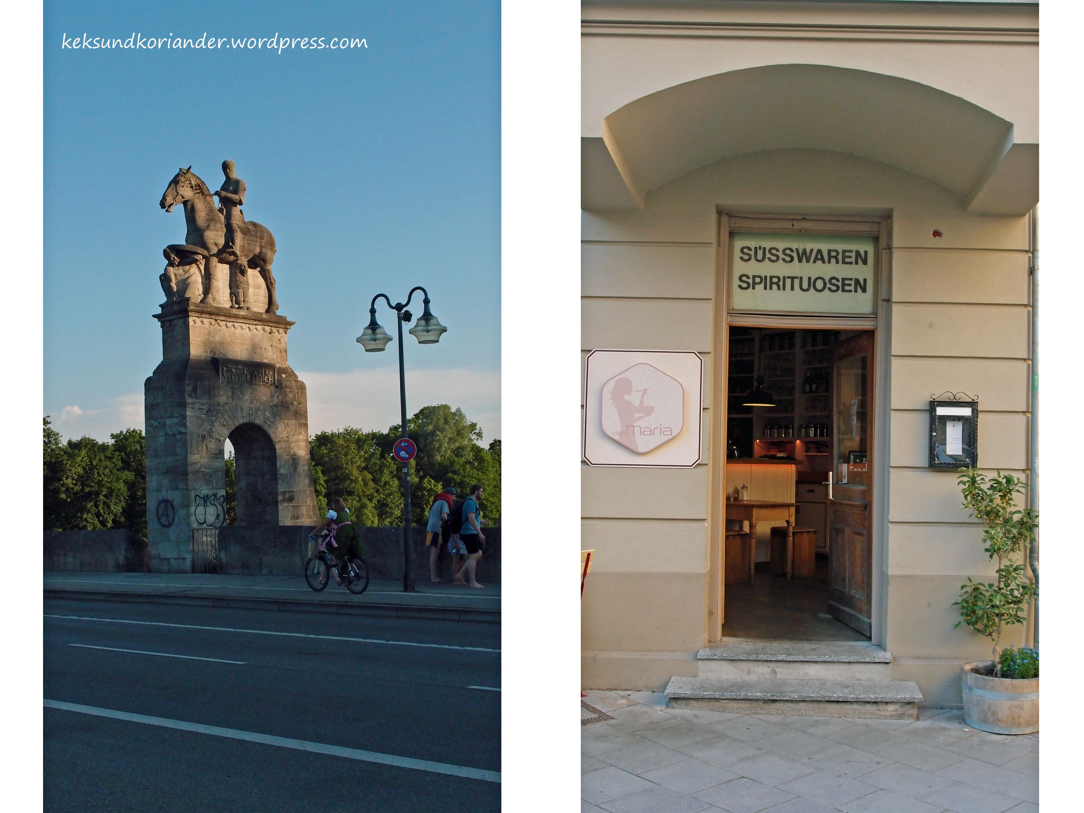 München Reichenbachbrücke Spirituosen