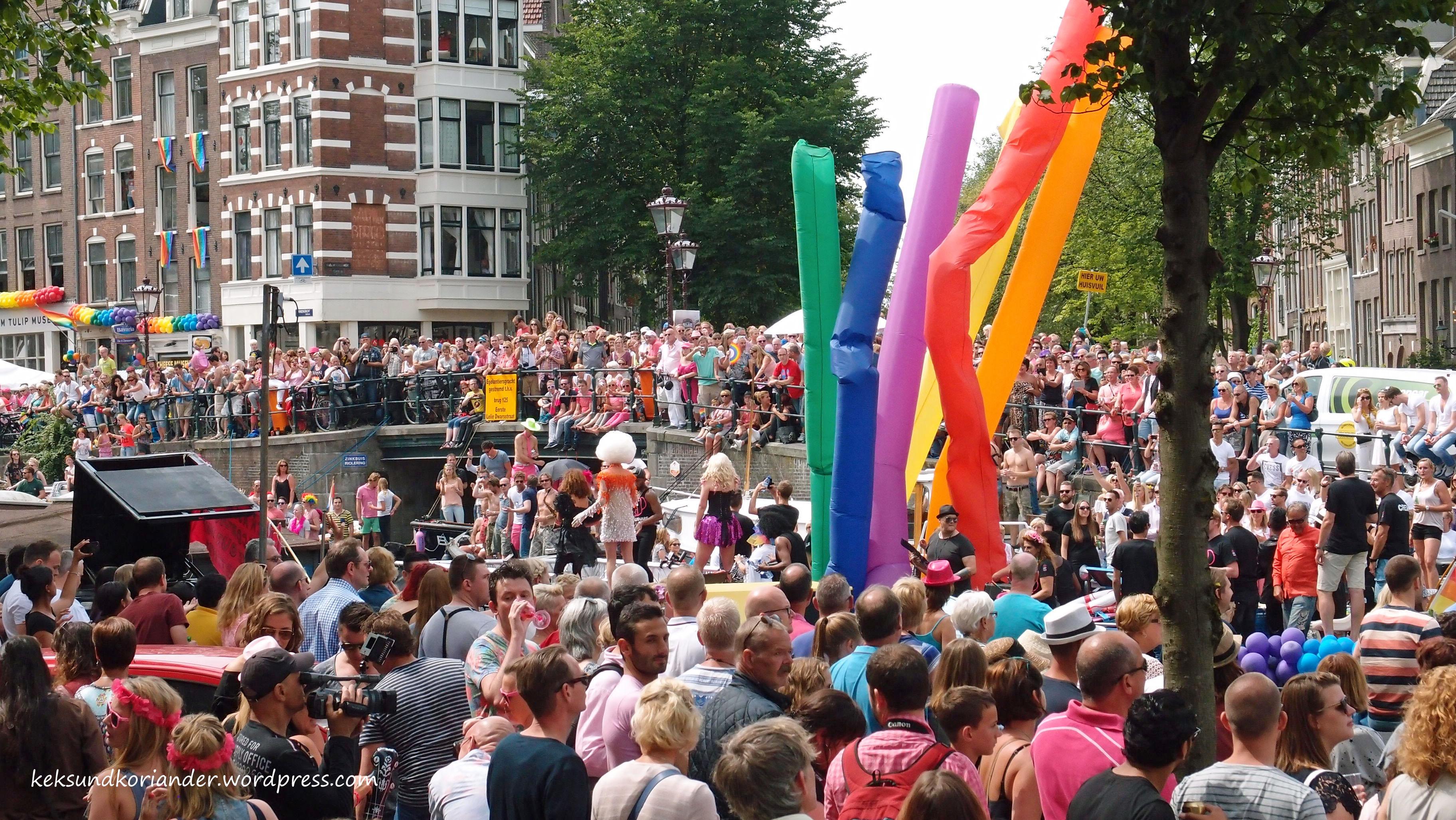 Gay Pride Amsterdam Niederlande