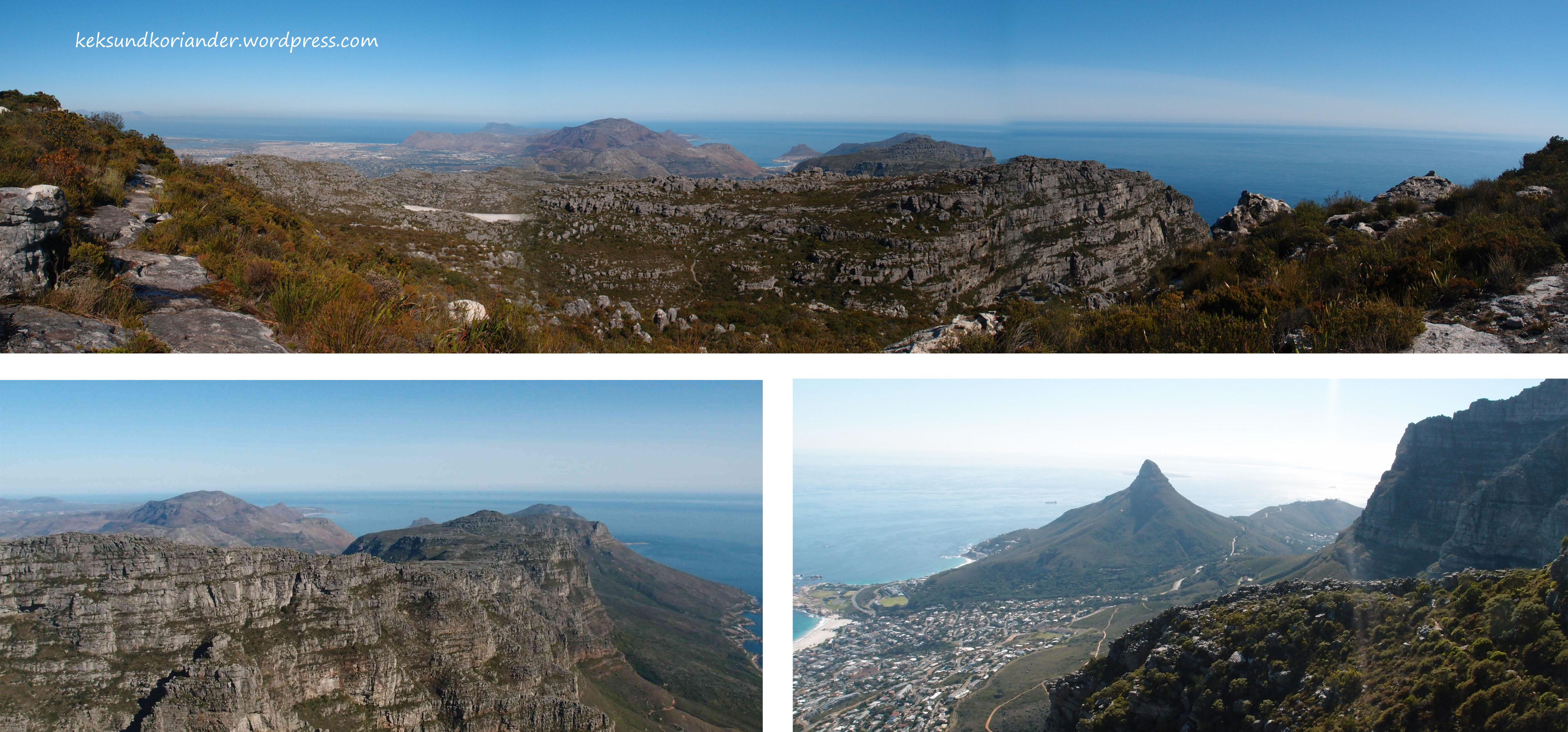 Kapstadt Tafelberg Wanderung Südafrika