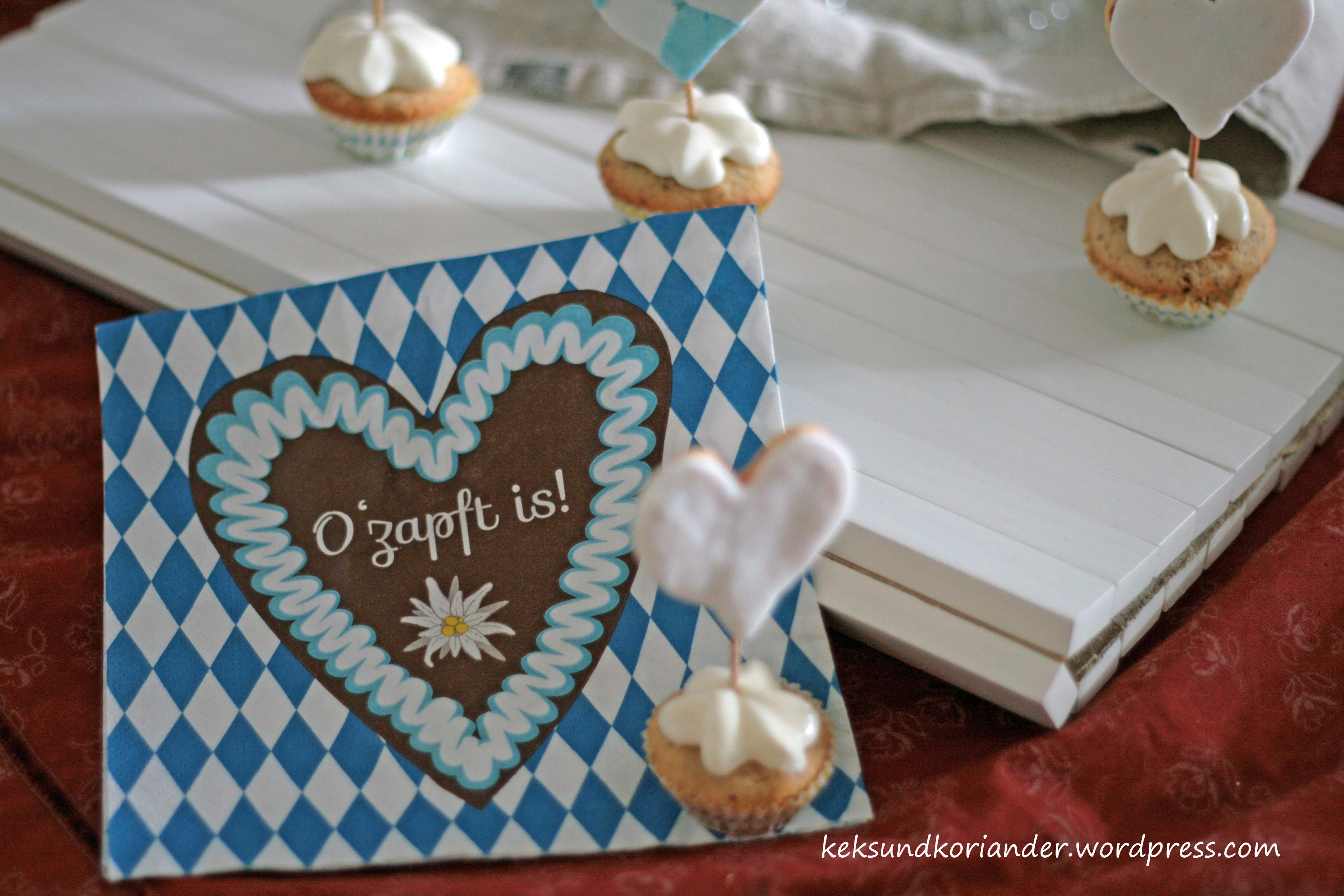 Cupcake Muffins Nussmuffin Topping Keks Wiesn2
