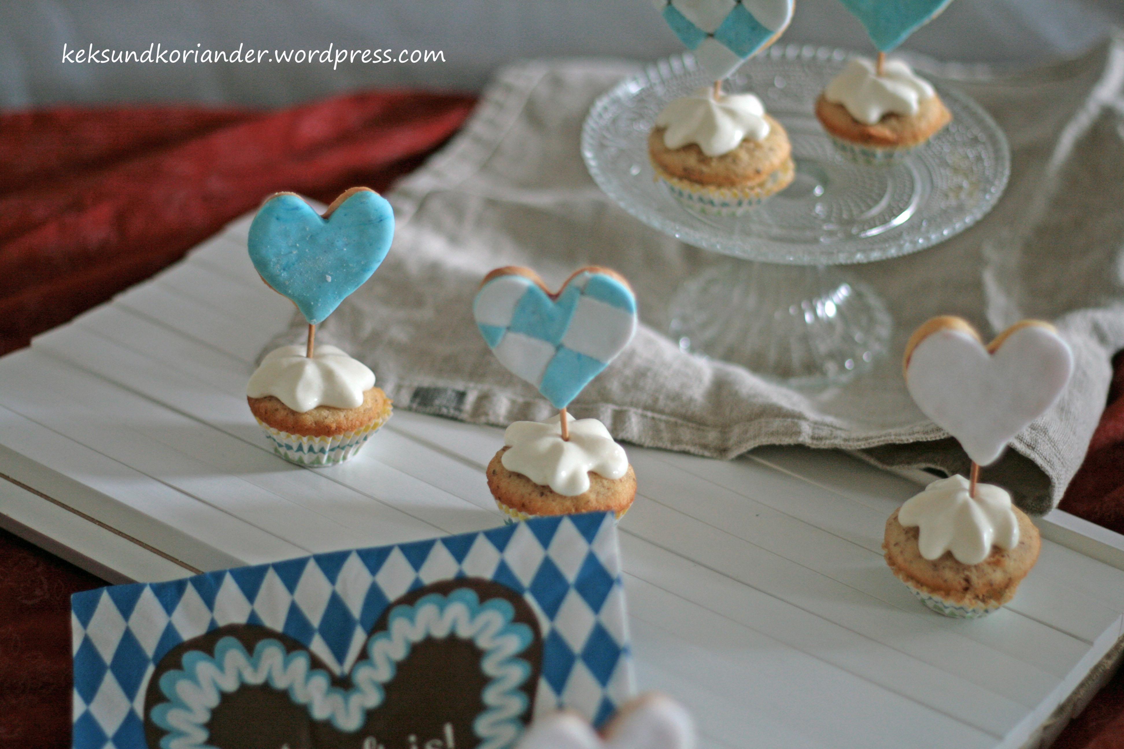 Cupcake Muffins Nussmuffin Topping Keks Wiesn3