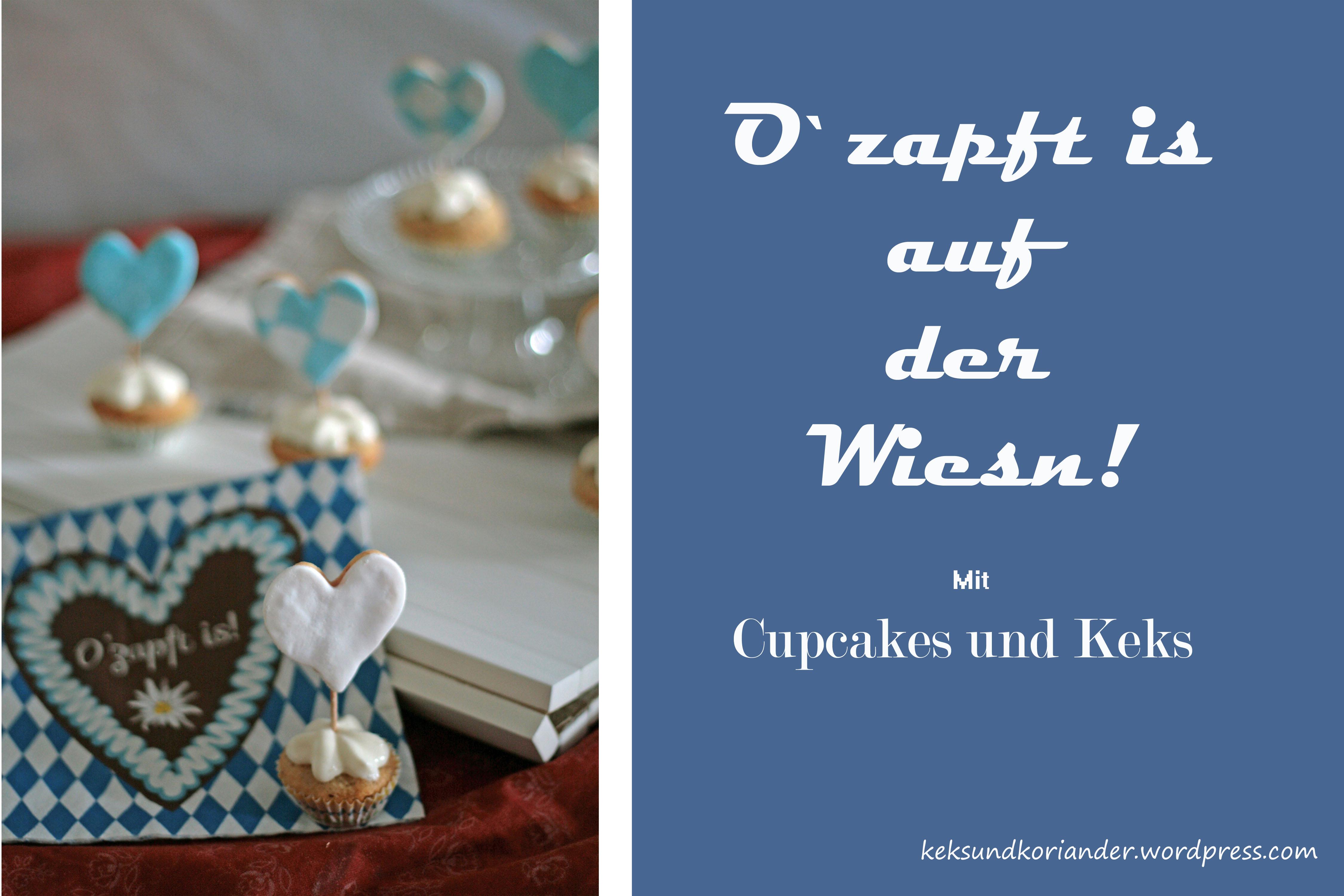 Cupcake Muffins Nussmuffin Topping Keks Wiesn4