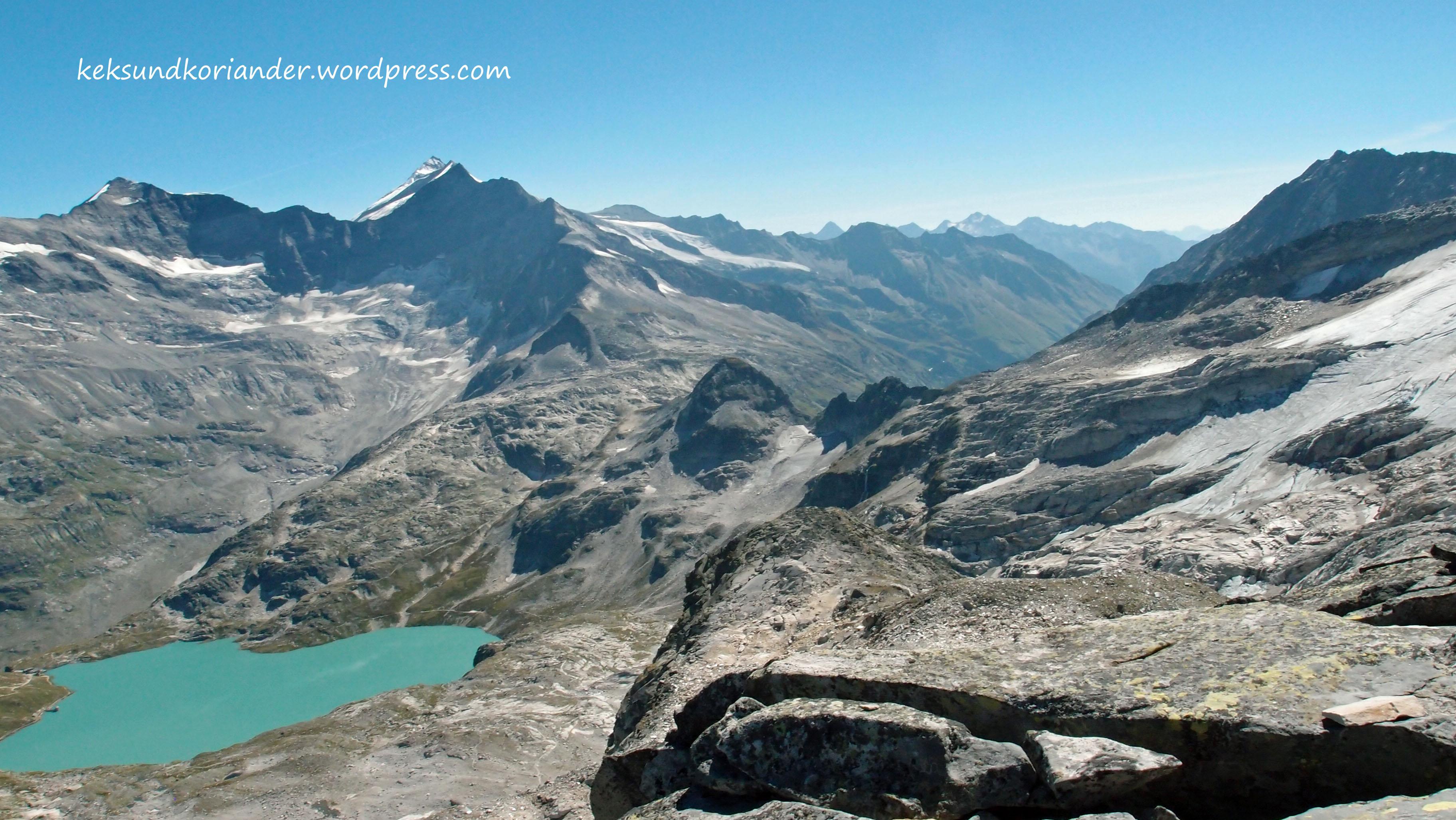 Wandern Hohentauern Österreich Gletschersee