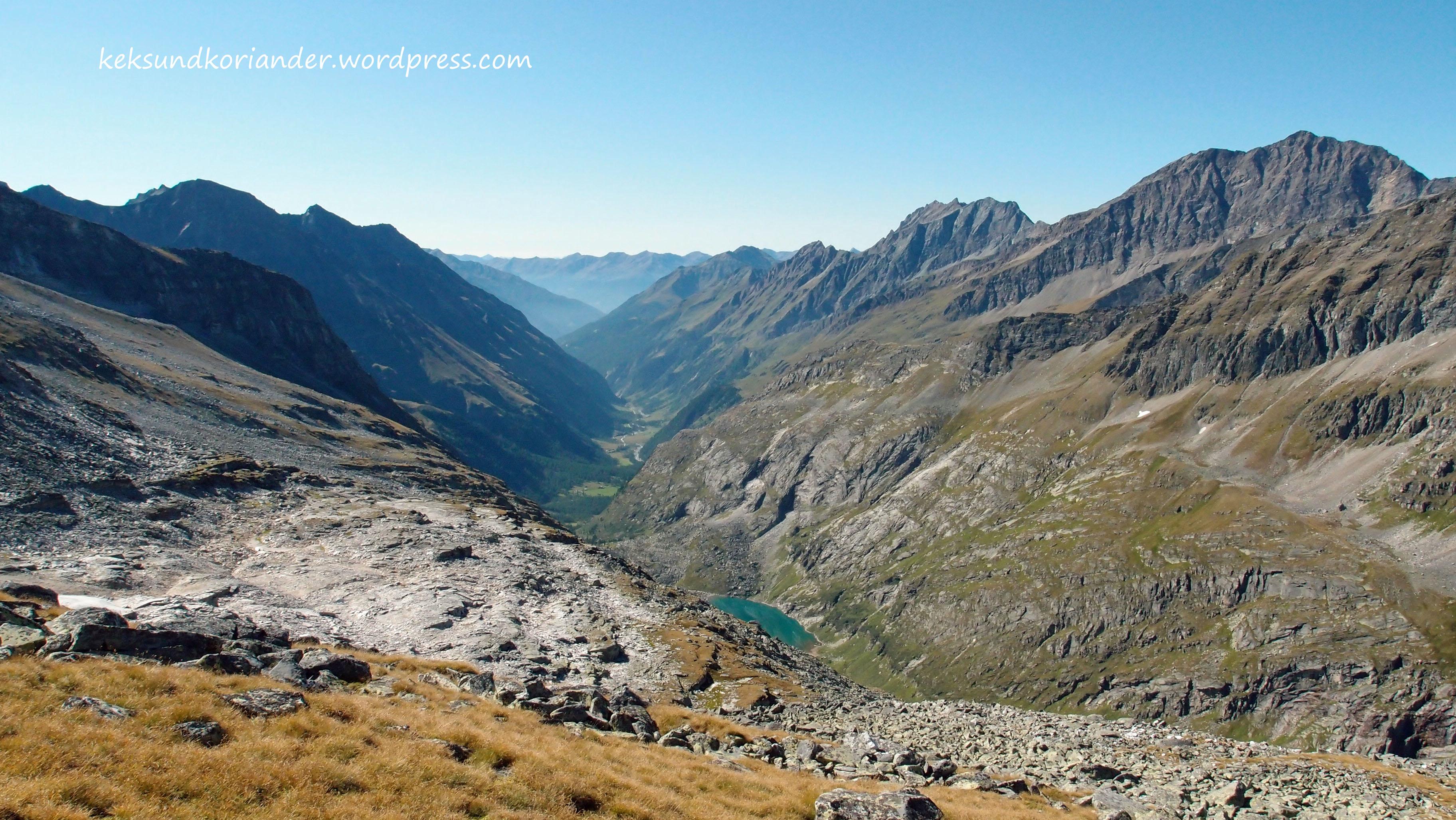 Wandern Hohentauern Österreich Gletschersee Mendelzkopf
