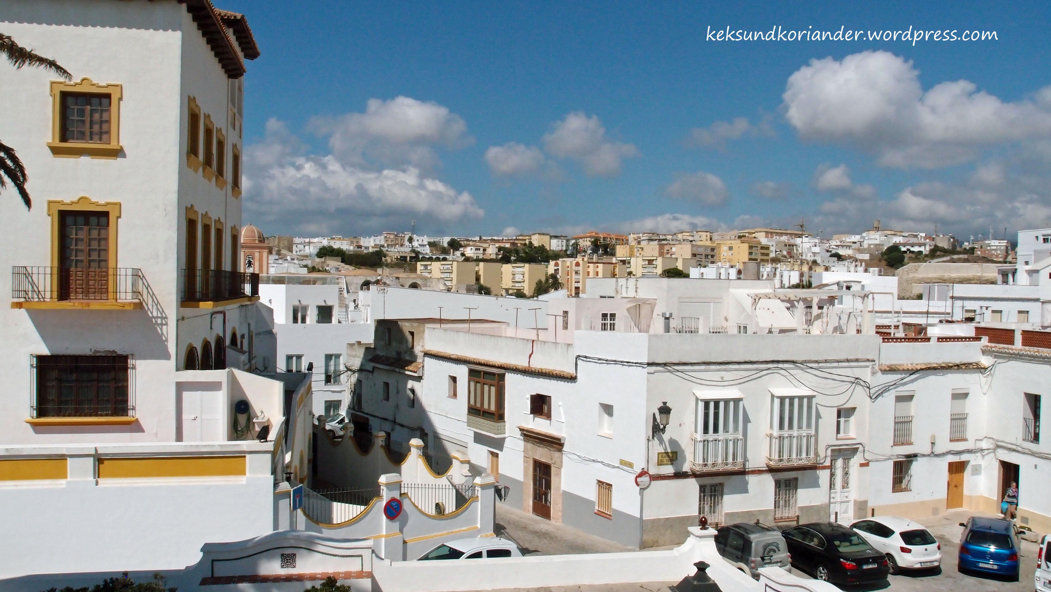 Tarifa Andalusien Spanien Altstadt