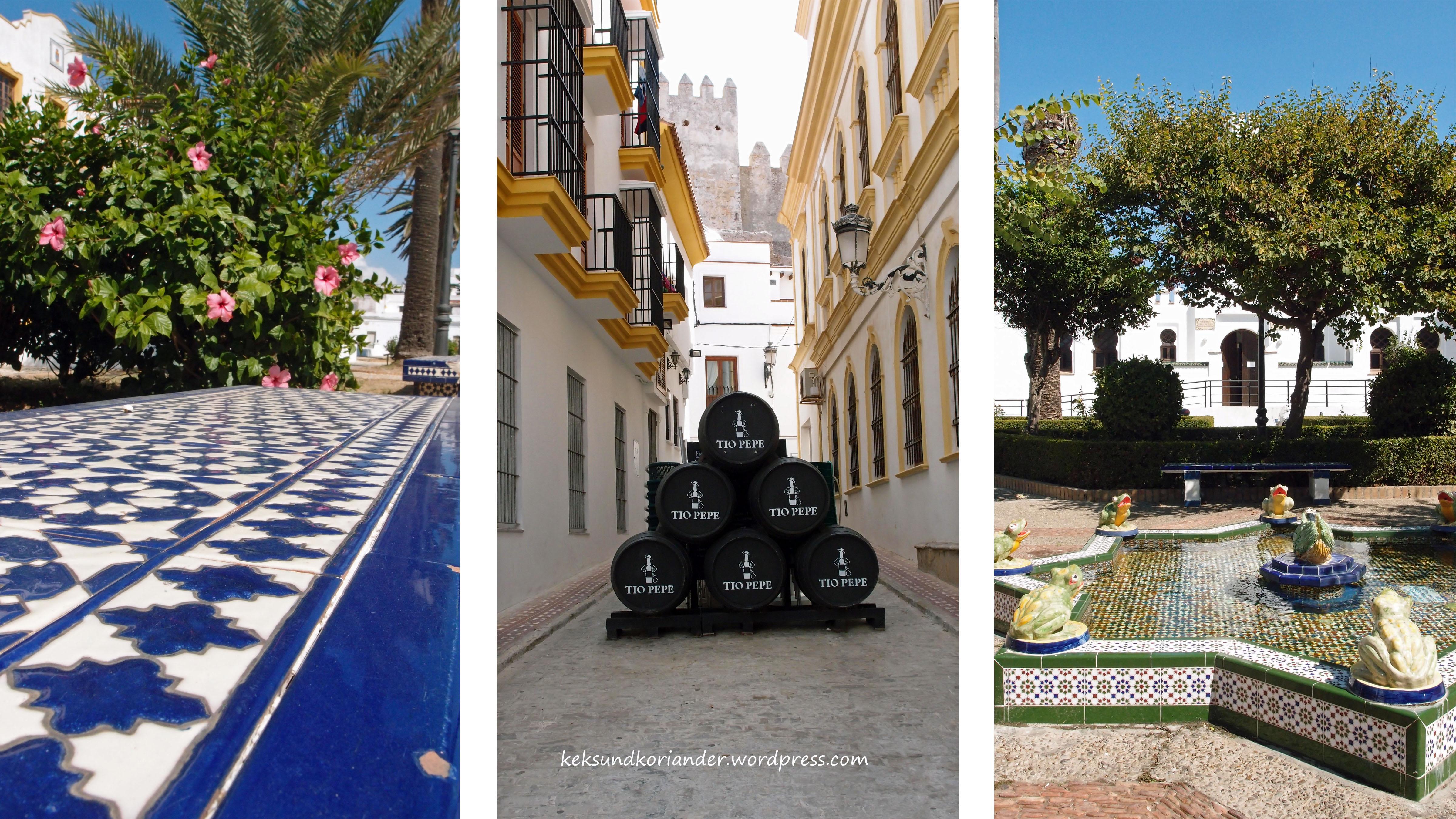 Tarifa Andalusien Spanien Altstadt weiß5