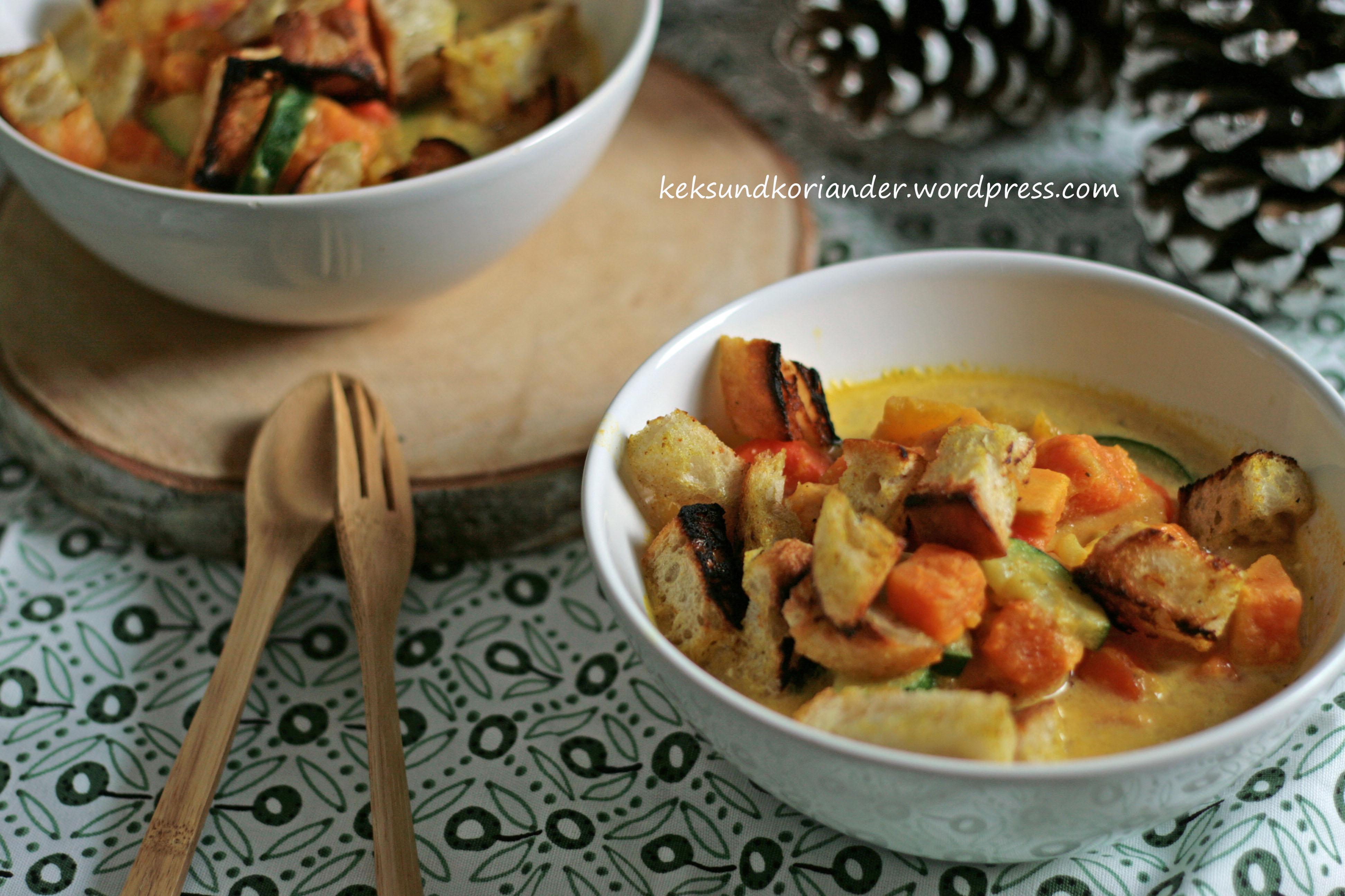 Kürbis-Süßkartoffel-Eintopf mit Curry3