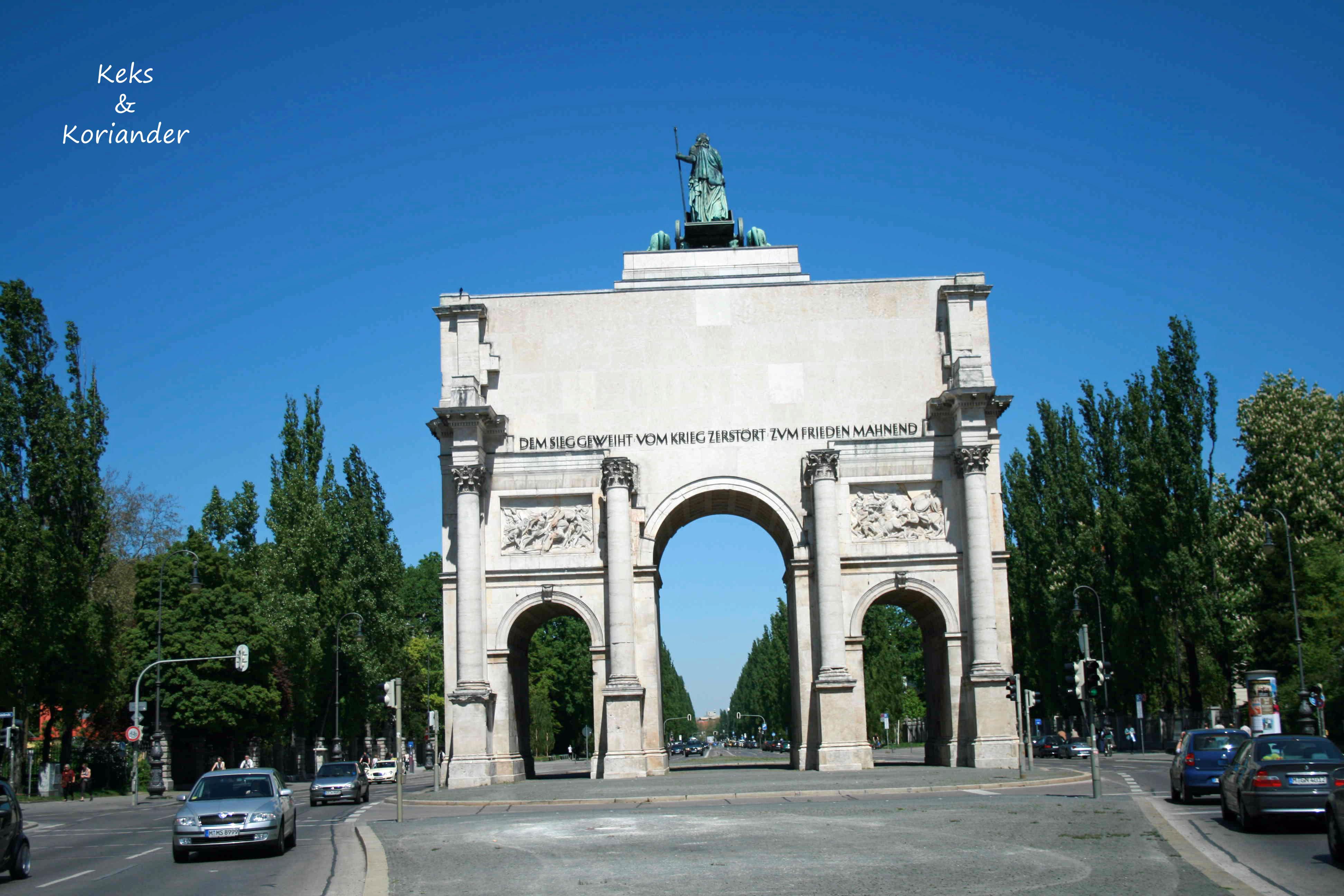 Siegestor München Leopoldstr