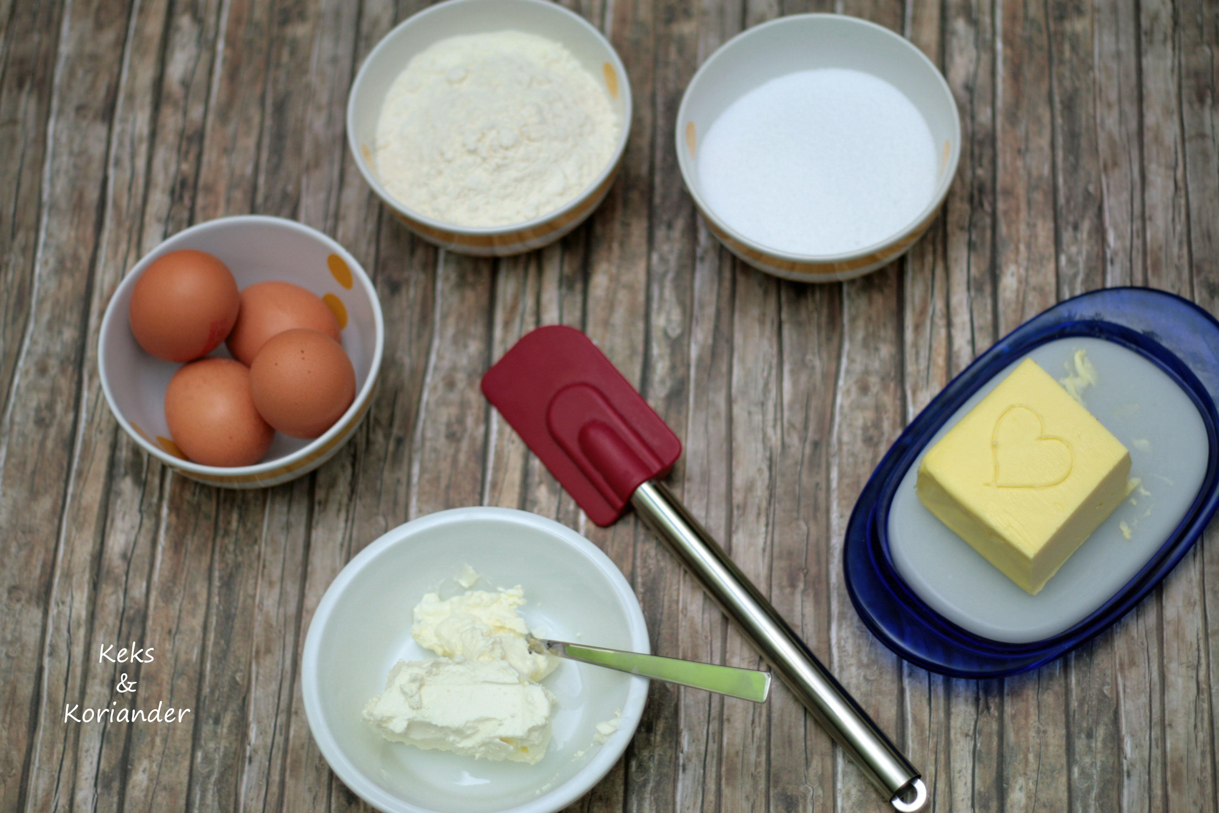 Käsekuchen mit Baiserhaube, Cheesecake 3