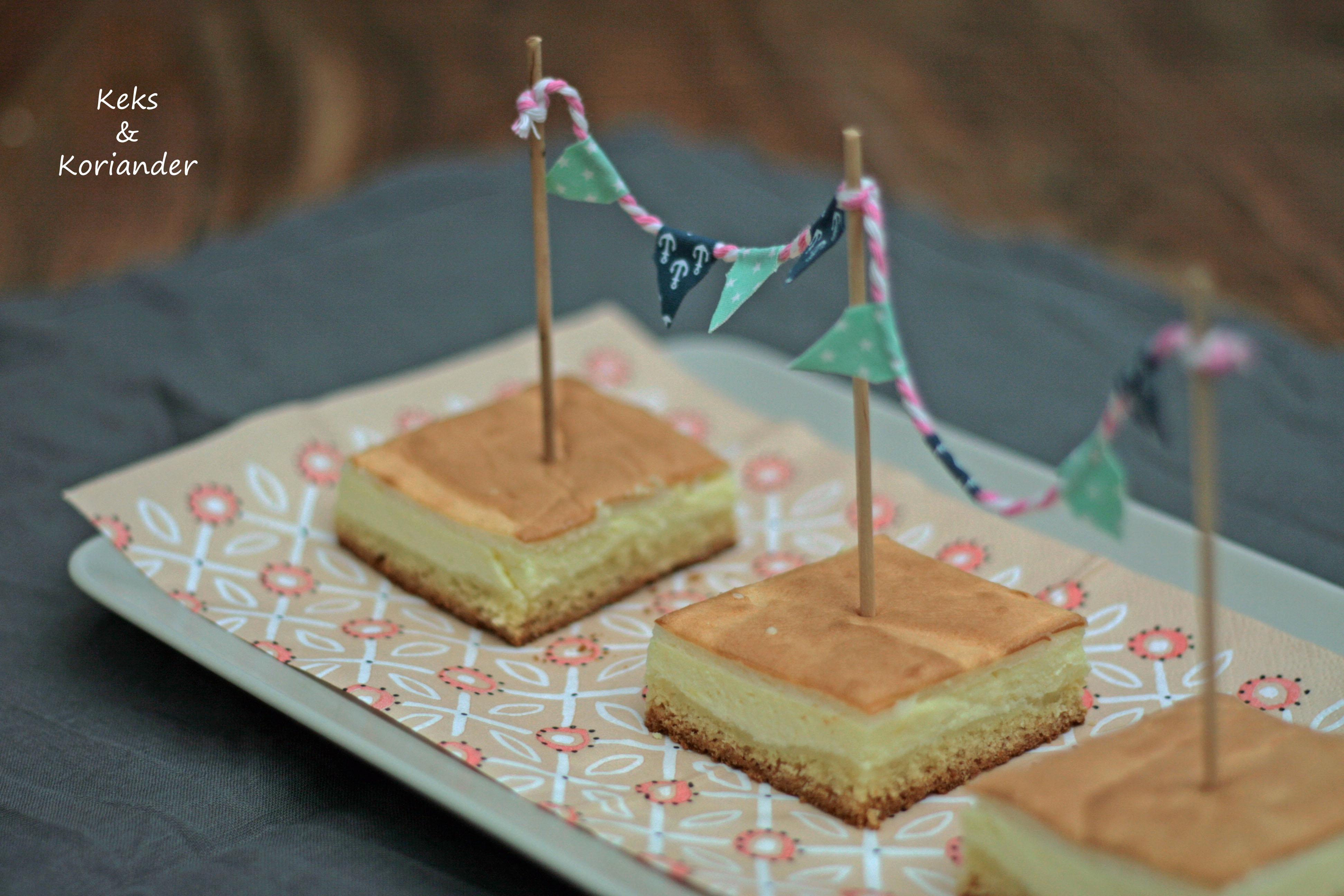 Käsekuchen mit Baiserhaube, Cheesecake 4