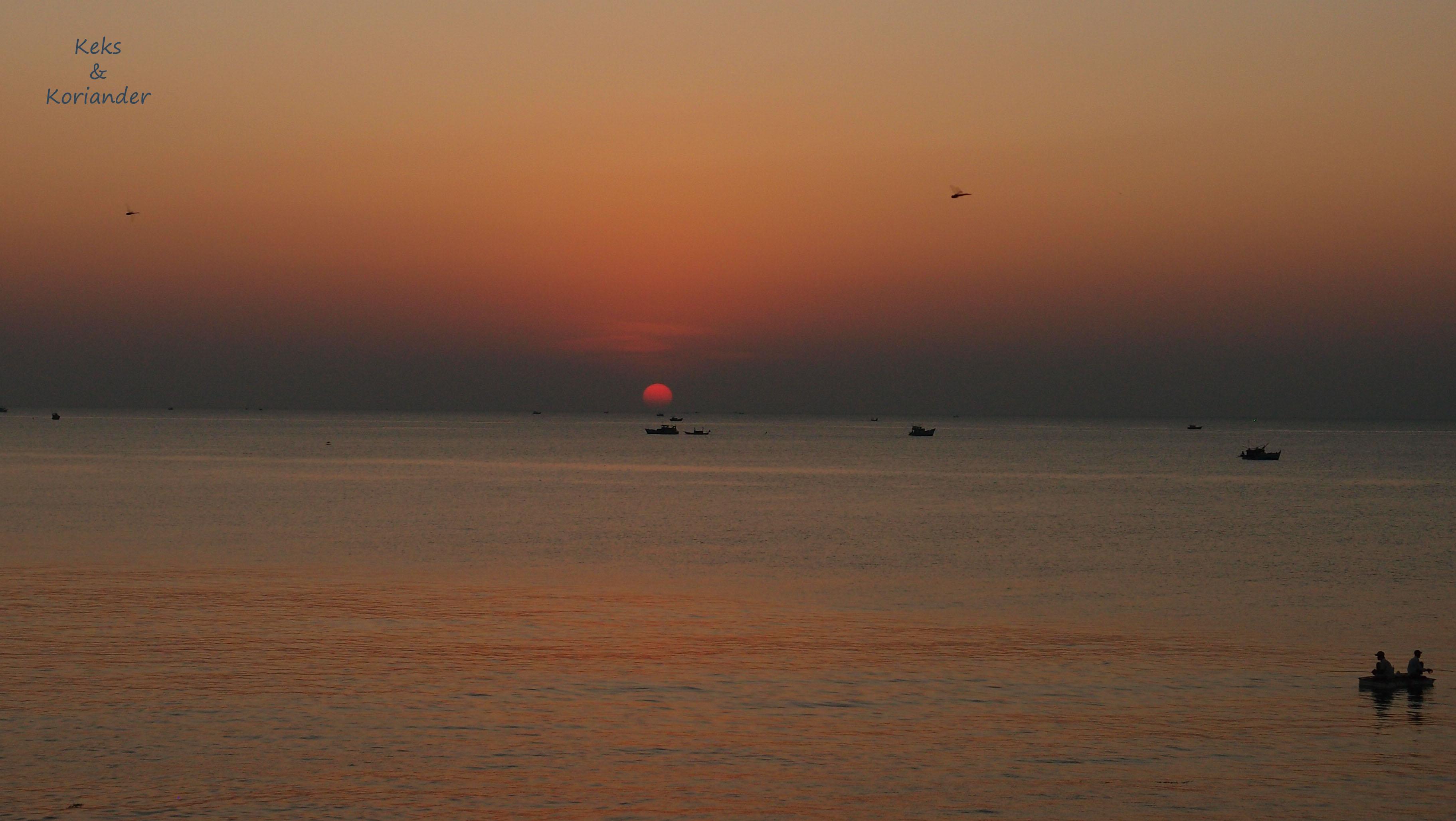Vietnam Phu Quok Sonnenuntergang Strand