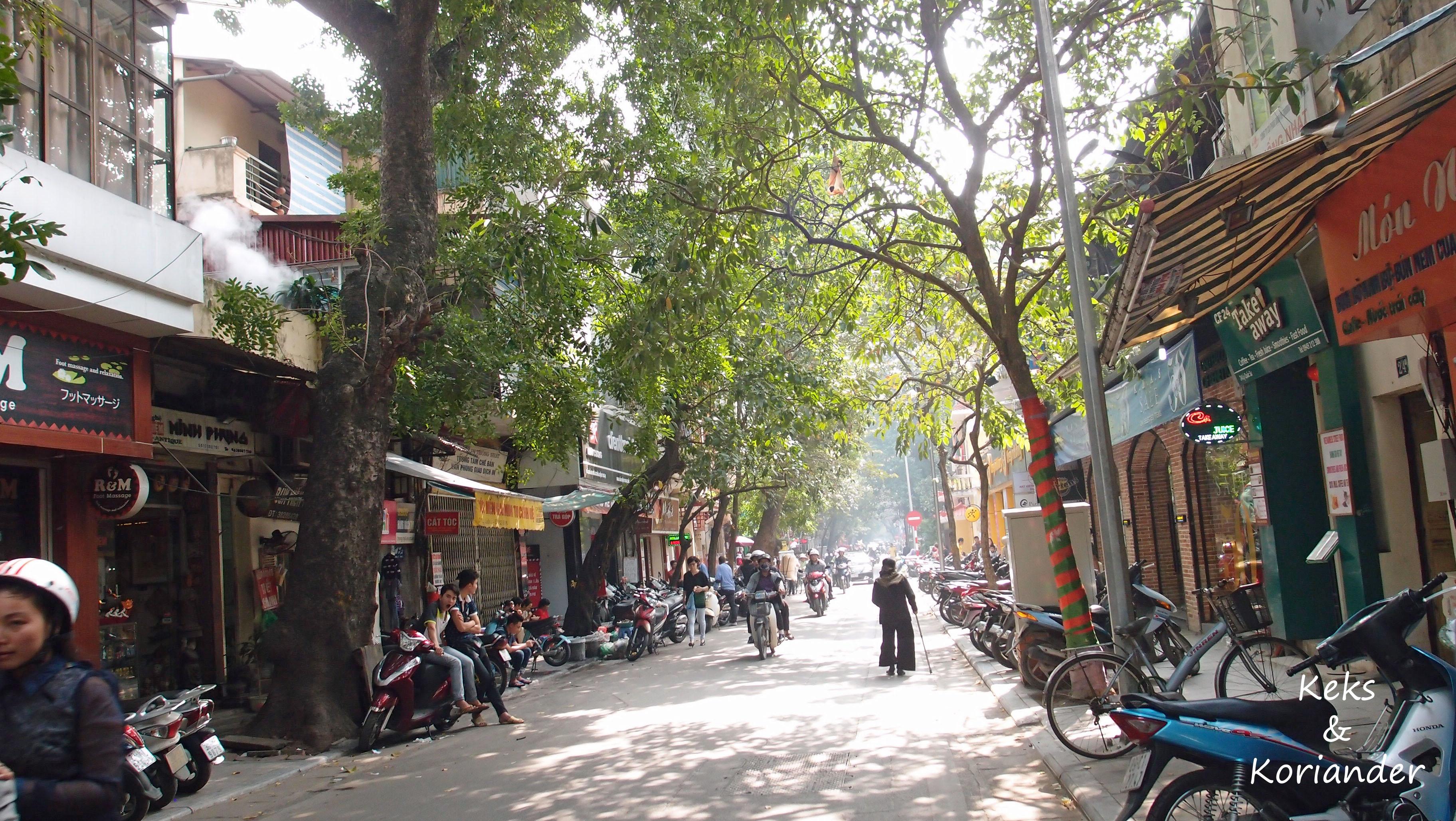 Vietnam Hanoi Altstadt