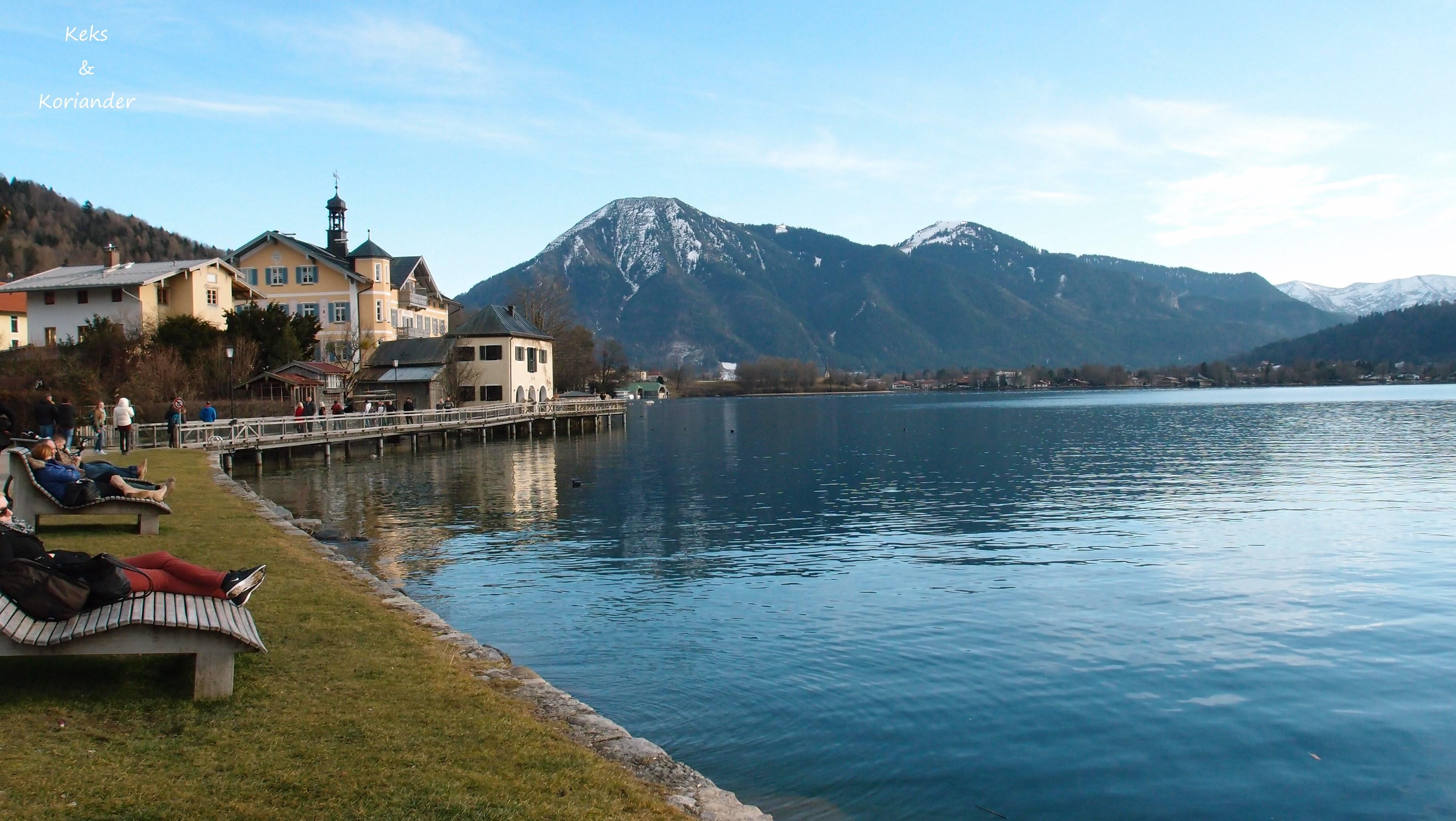 Tegernsee Wandern Bayern Winterwanderung