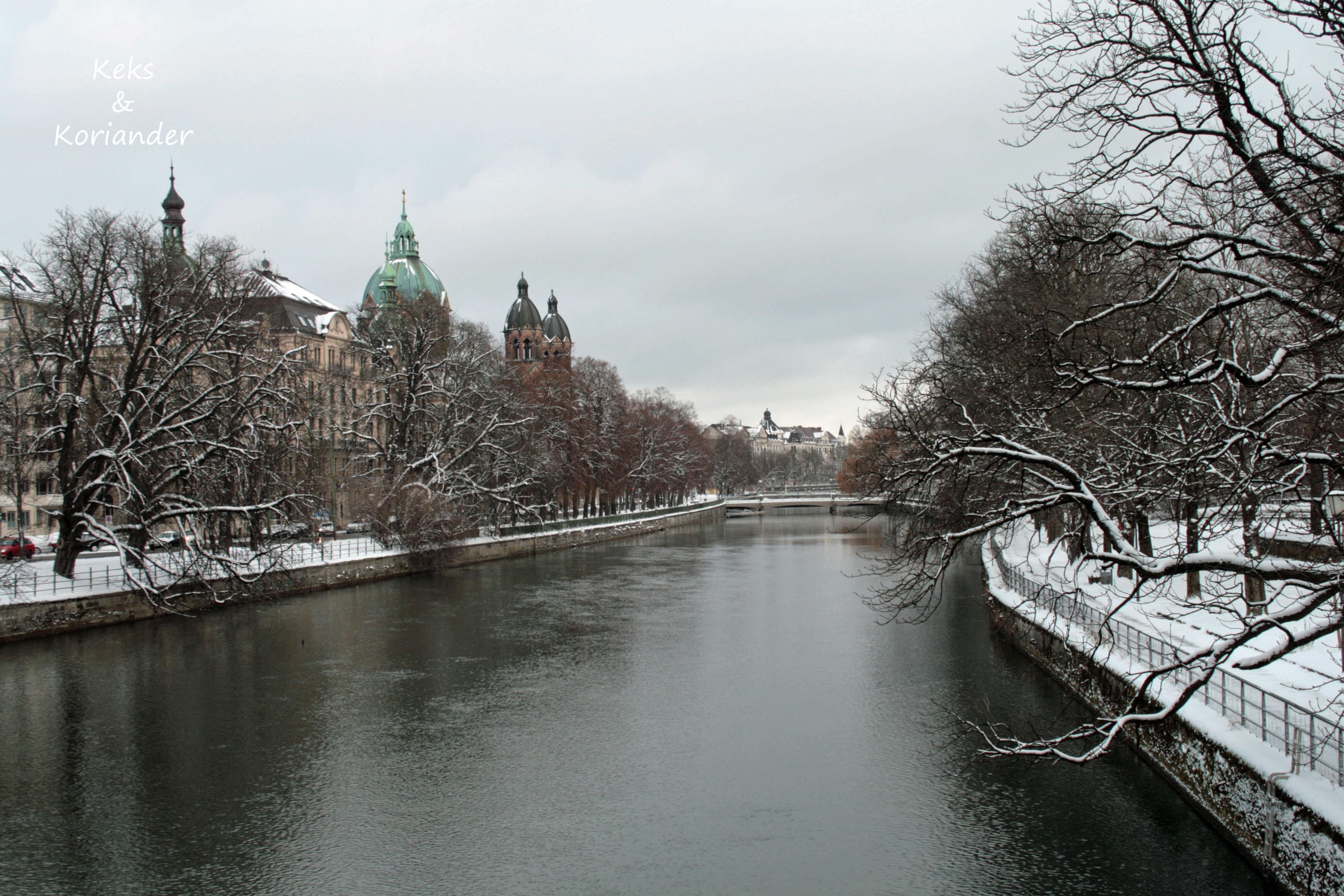 Winter Isar München