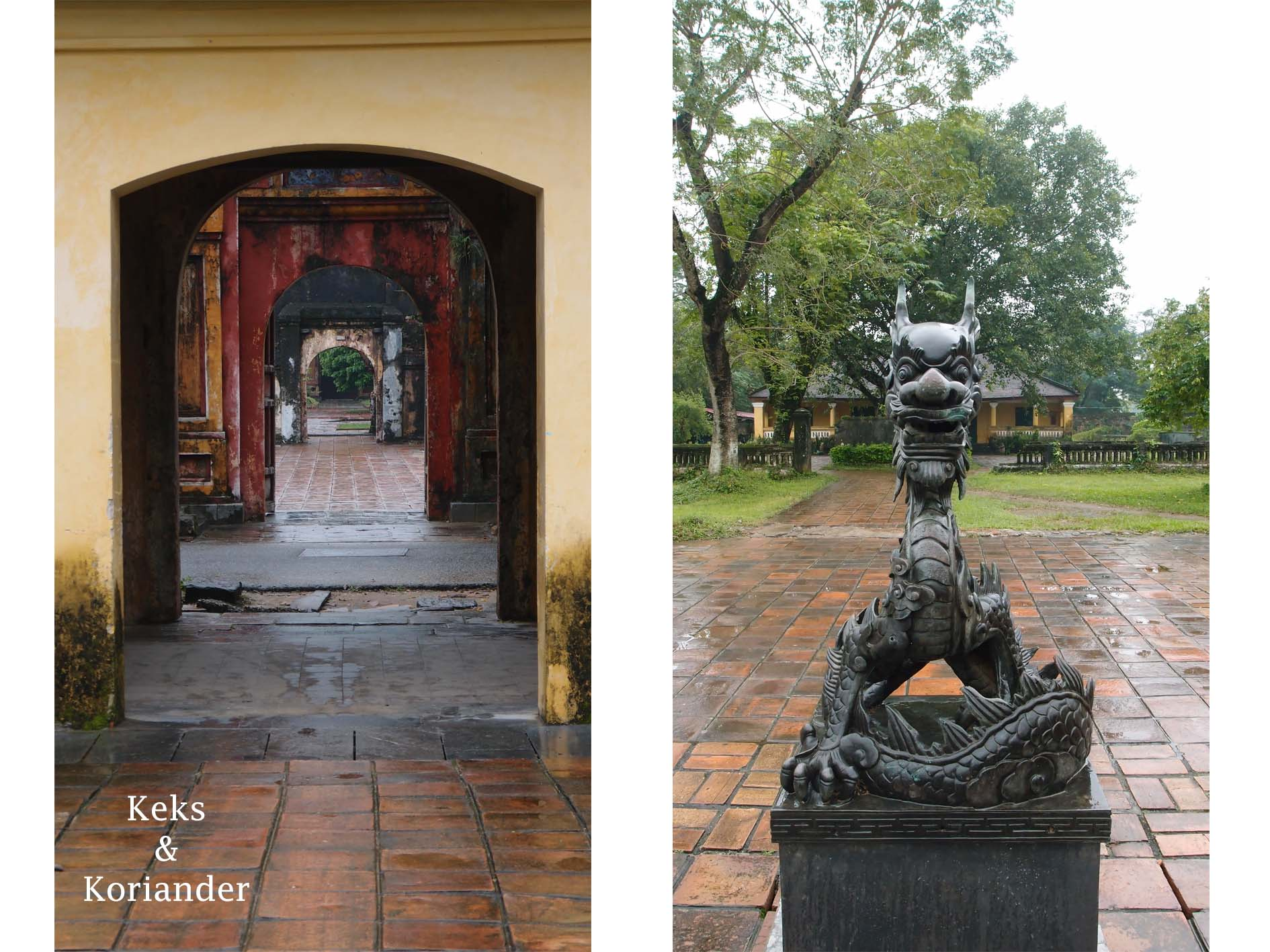 Hue Kaiserstadt verbotene Stadt Zitadelle Vietnam 6