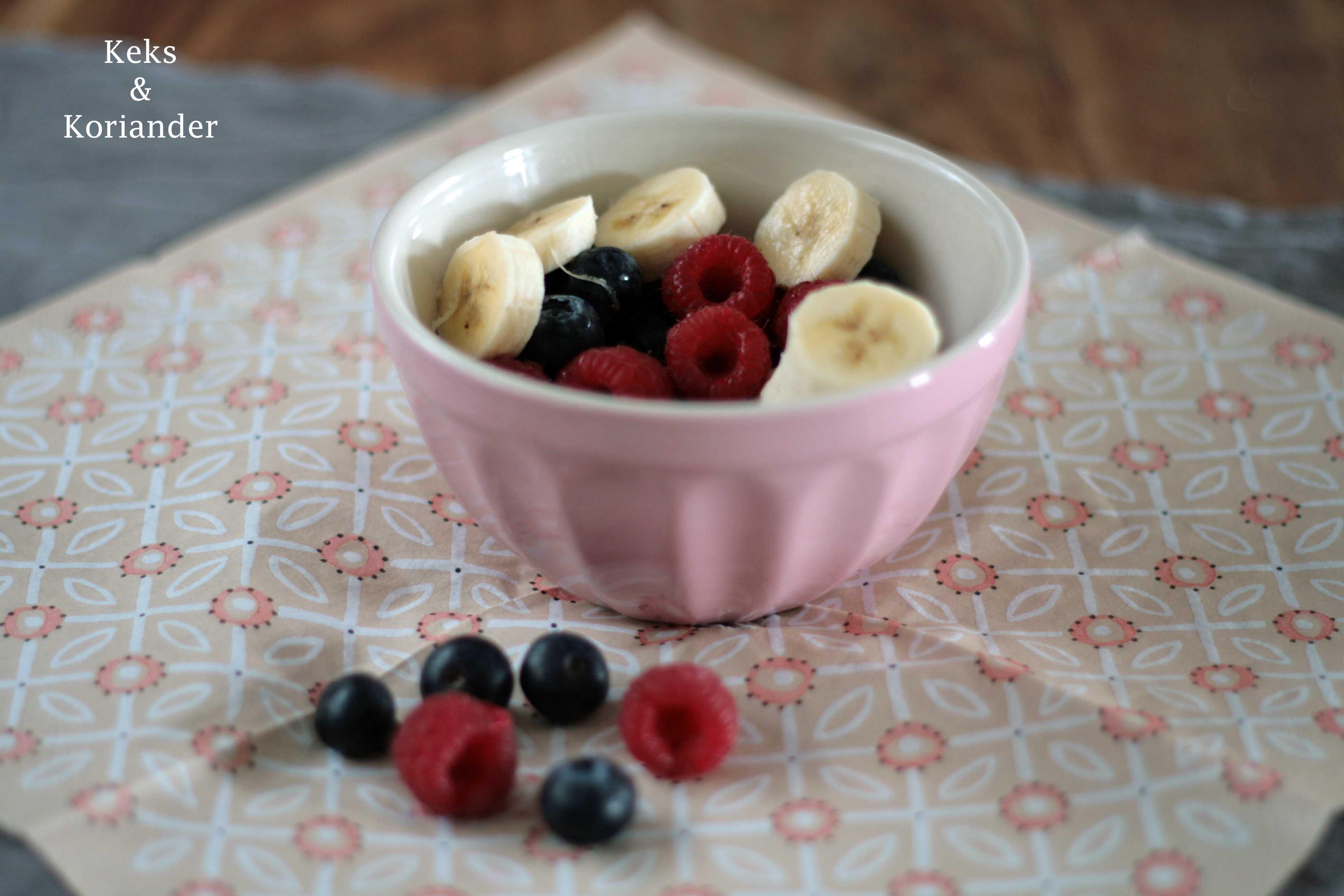 Beeren für Pancakes mit Nicecream very berry
