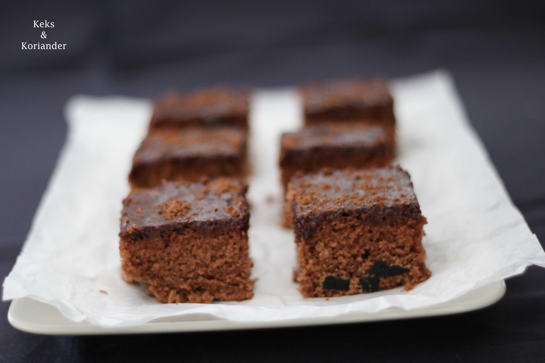 Isländischer Kuchen Skuffukaka Schokokuchen Kaffeeguss 2