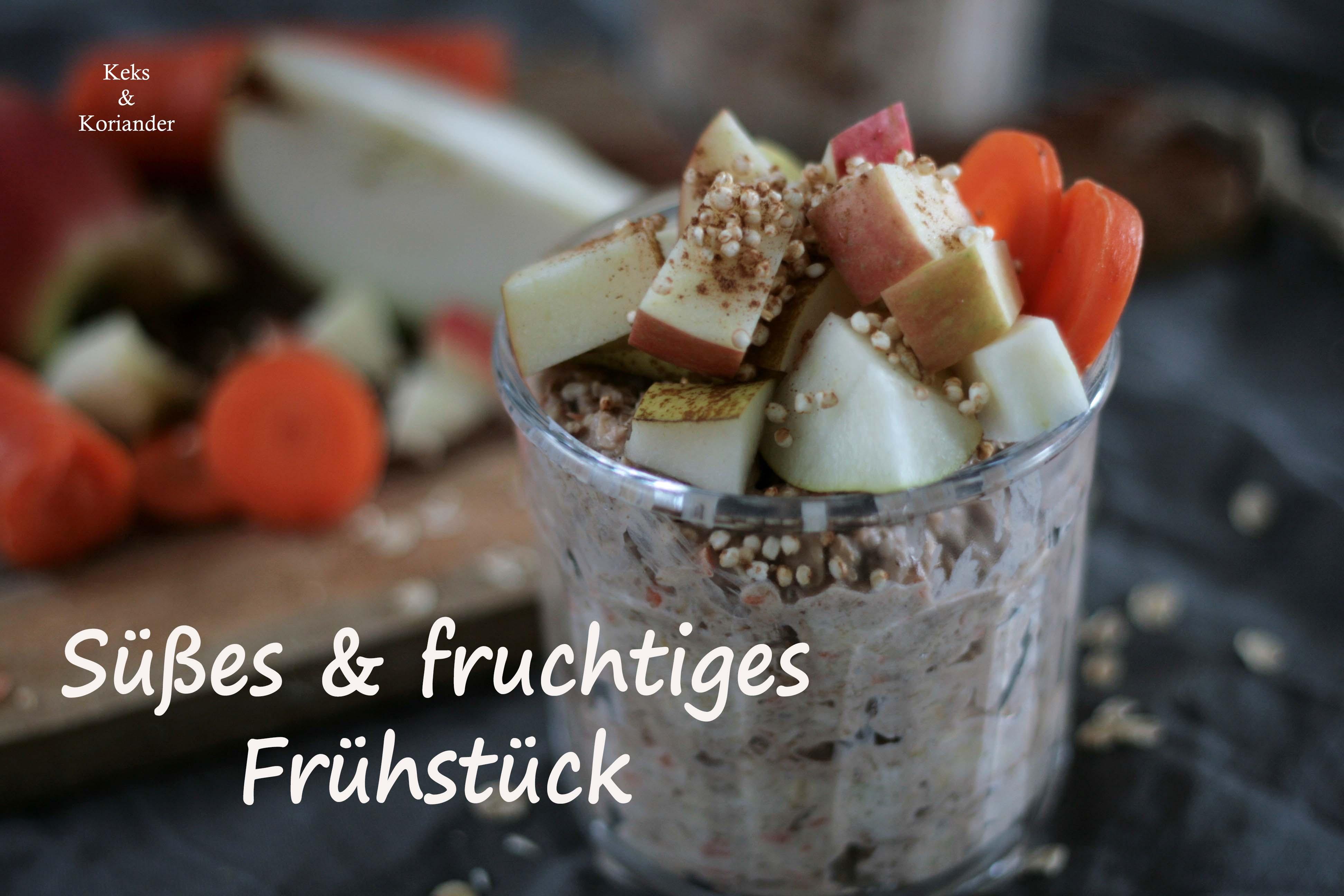 Overnight Oats Frühstück