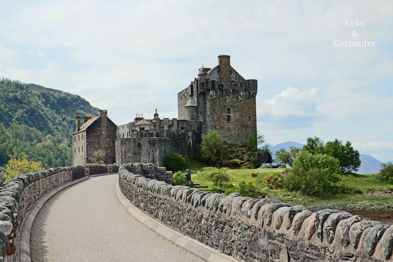 Schottland Burg Eilen Donan Castle