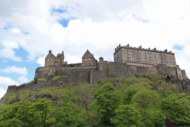 Edinburgh Schottland Castle Old Town