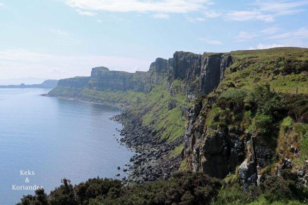Kilt Rock Küste Isle of Skye Schottland