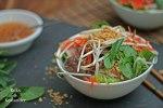 Bun Bo Nam Bo vietnamesischer Rindfleischsalat