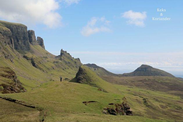 Quiraing Schottland Isle of Skye