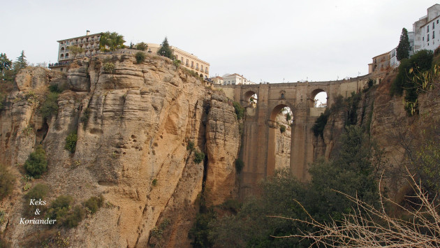 Ronda Andalusien Spanien
