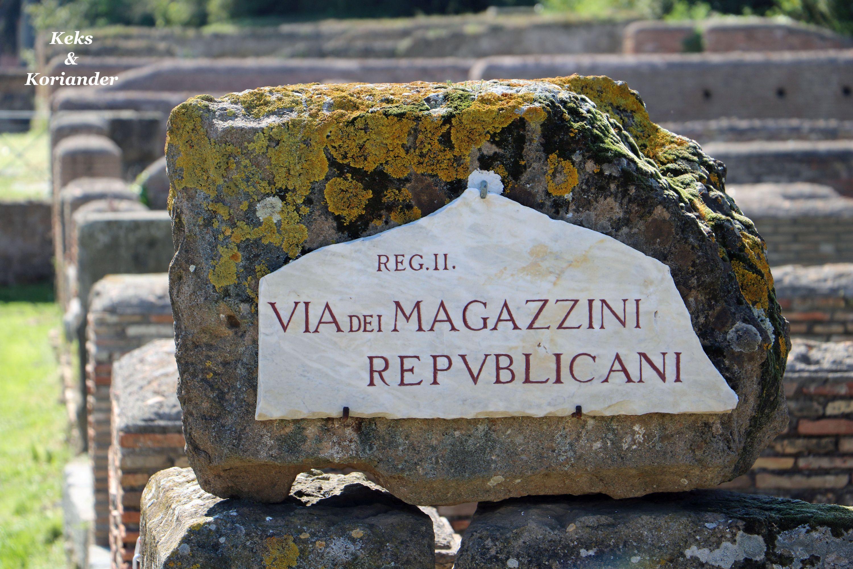 Rom Italien Antica Ostia