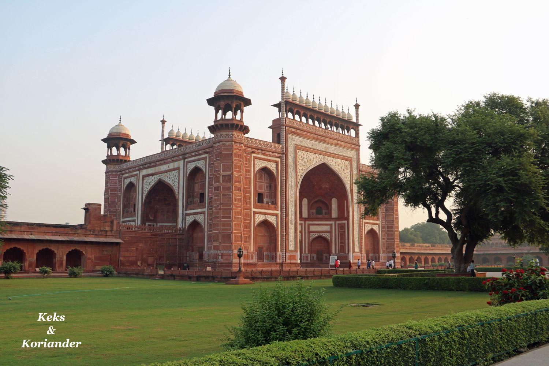 Agra Indien Taj Mahal Gelände