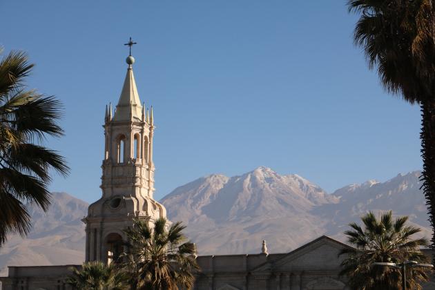 Arequipa Peru, Plaza de Armas
