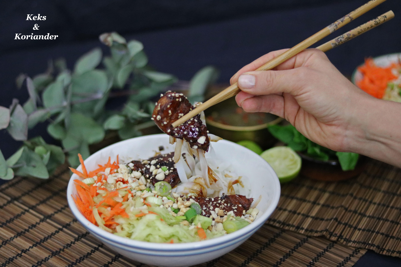 Bun Cha vietnamesisch Schweinefleisch karamellisiert 2