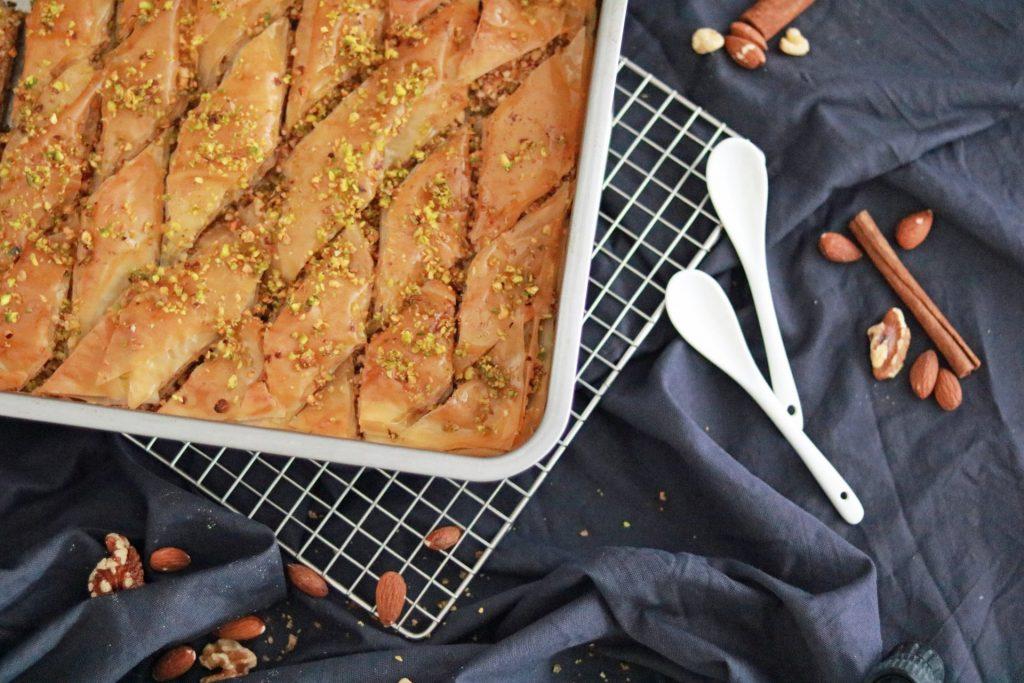 Baklava weniger süß