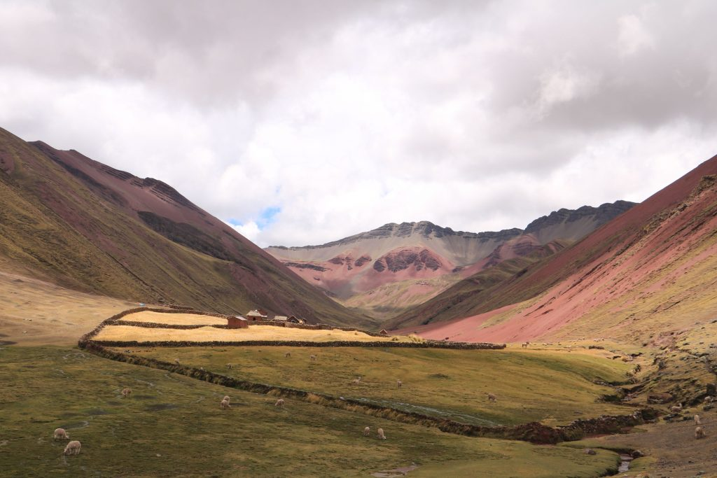 Peru Rainbow Mountain Red Valley Cusco