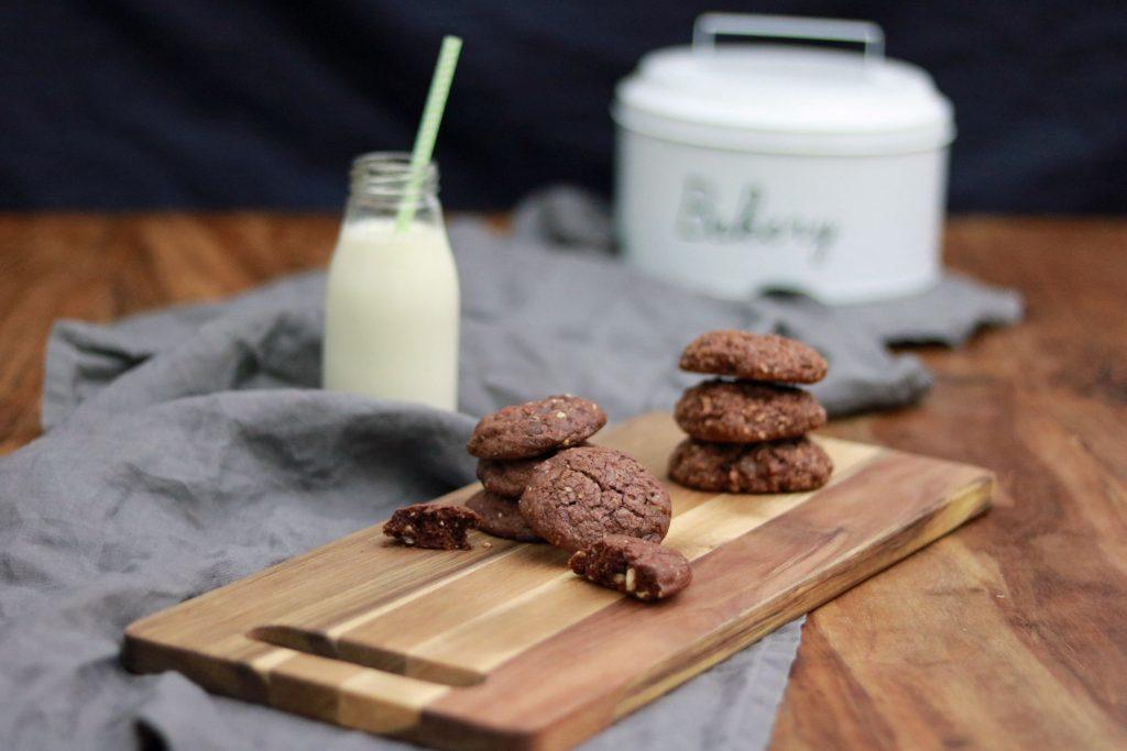Schokoladenkekse Cookies Früstückskekse