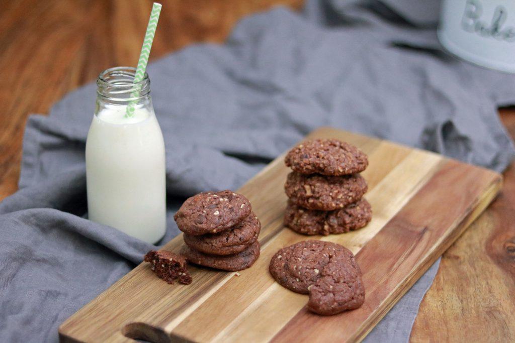 Schokoladenkekse Cookies Frühstückscookies