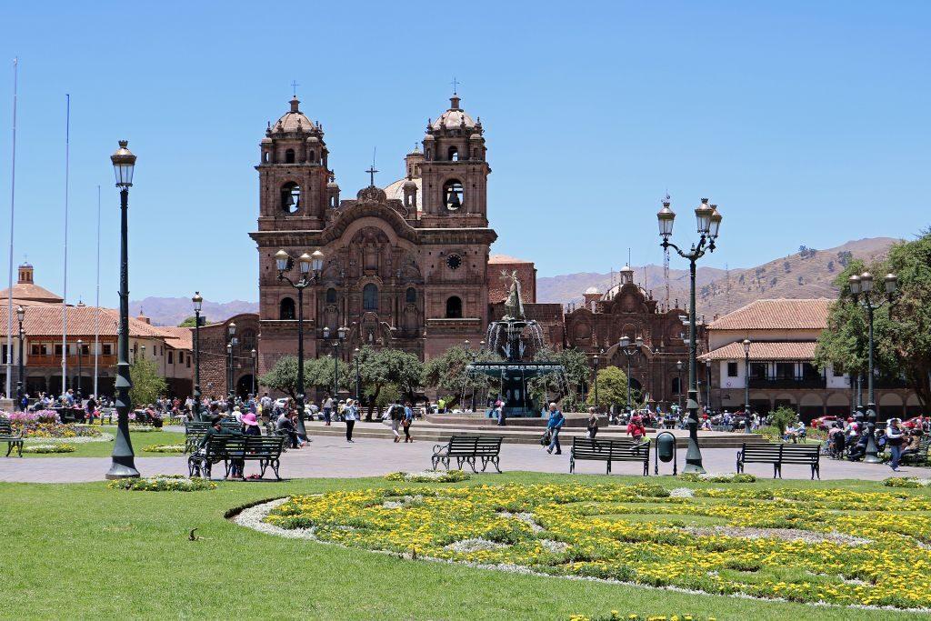 Cusco Plaza del Armas