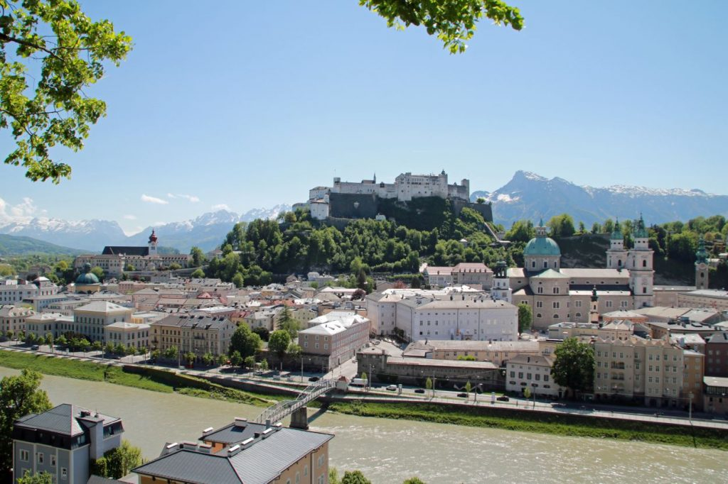 Salzburg Austria Österreich Altstadt Mozartstadt