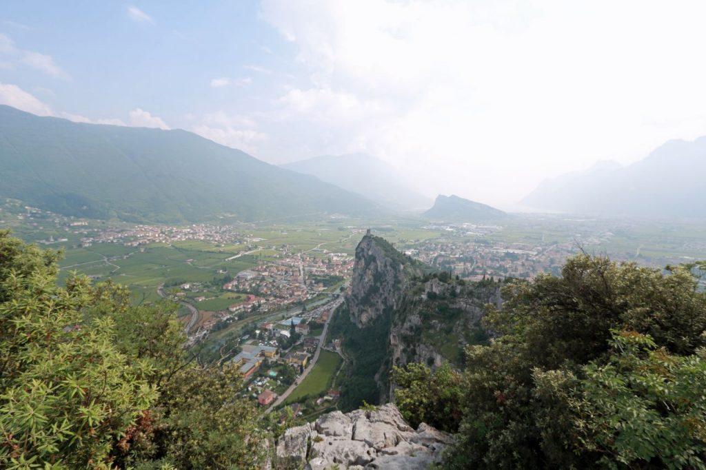 Lago di Garda Gardasee Italien Norden Arco Klettersteig Colodri