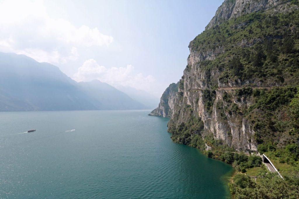 Lago di Garda Gardasee Italien Norden Mountainbiken