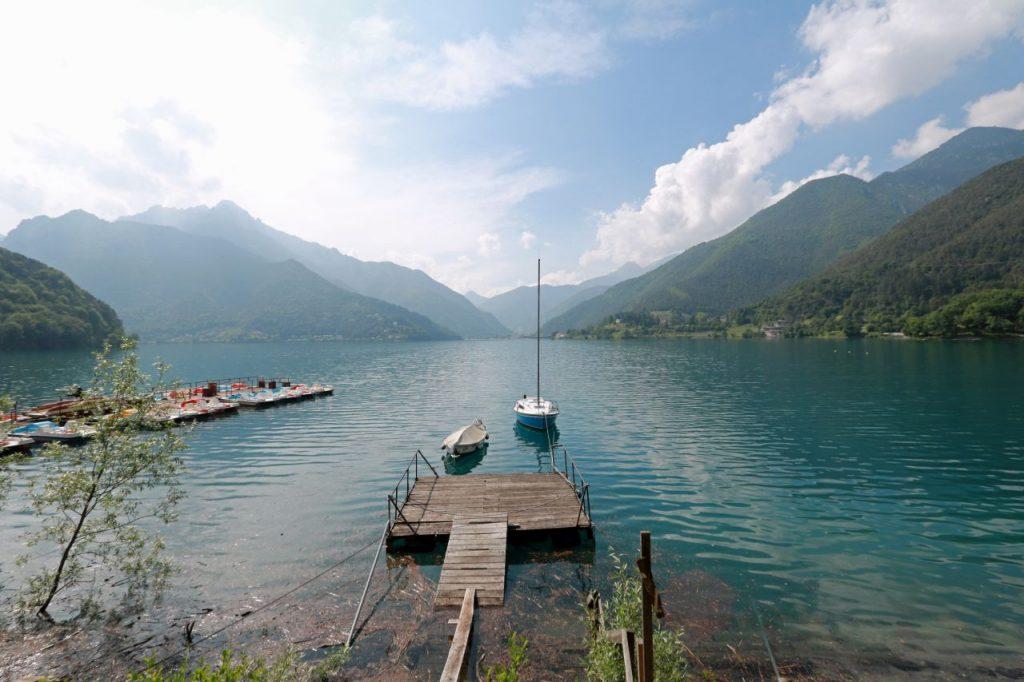 Lago di Garda Gardasee Italien Norden Lago di Ledro