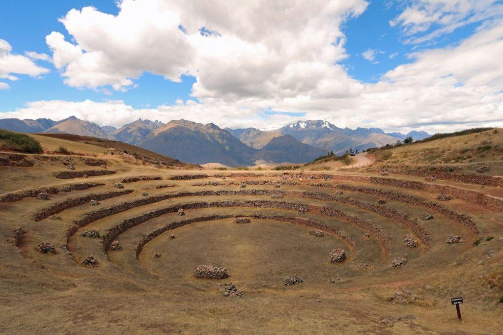 Heiliges Tal Sacred Valley Urubamba Tal Peru Südamerika Moray