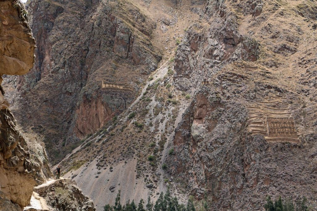 Heiliges Tal Sacred Valley Urubamba Tal Peru Südamerika Ollantaytambo