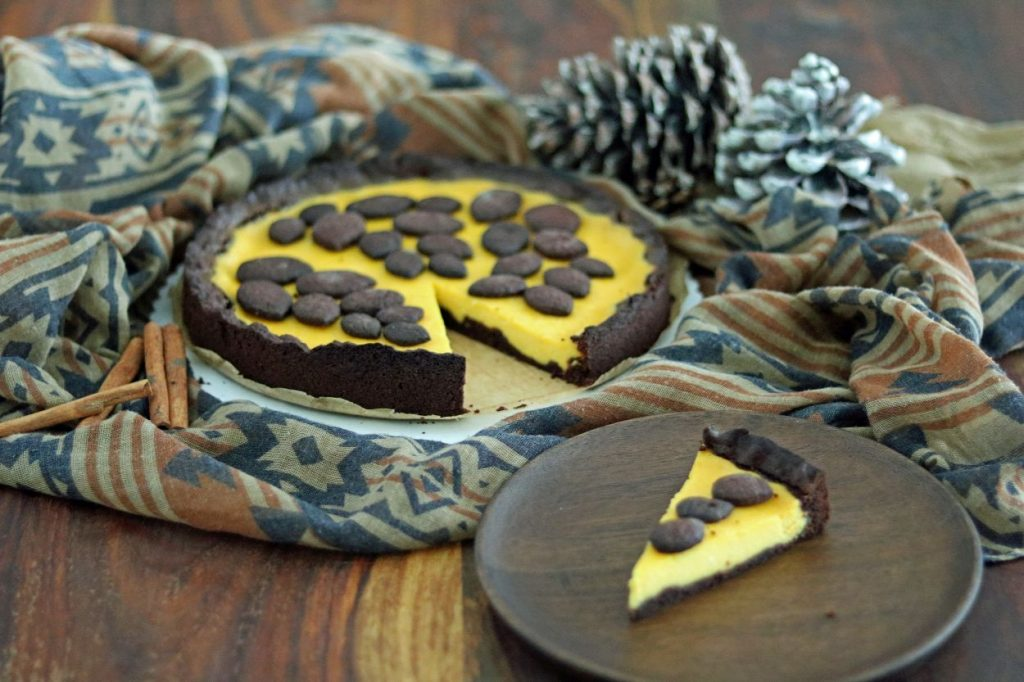Kürbischesesecake russischer Zupfkuchen