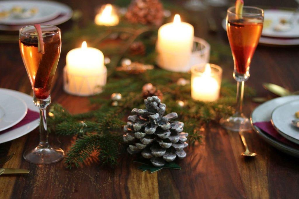 Schneewittchens Apfel weihnachtlicher Aperitif Apfel Rum Calvados